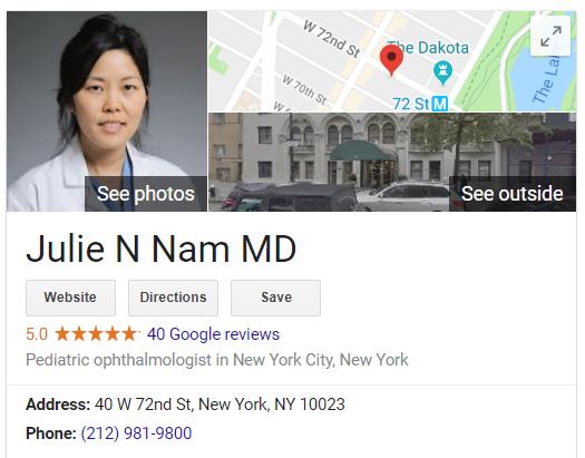 Julie Nam MD