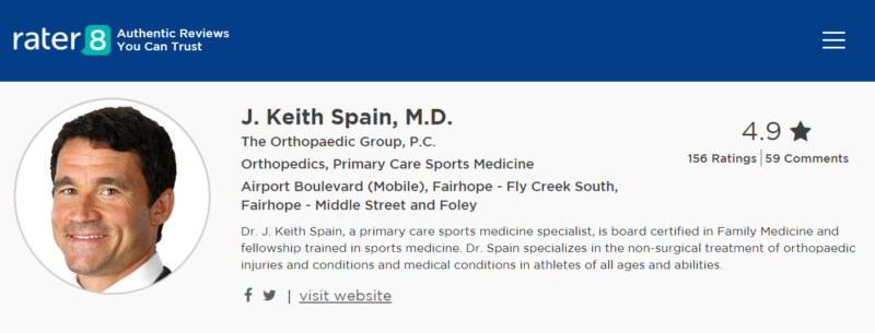 Dr. Keith Spain MD